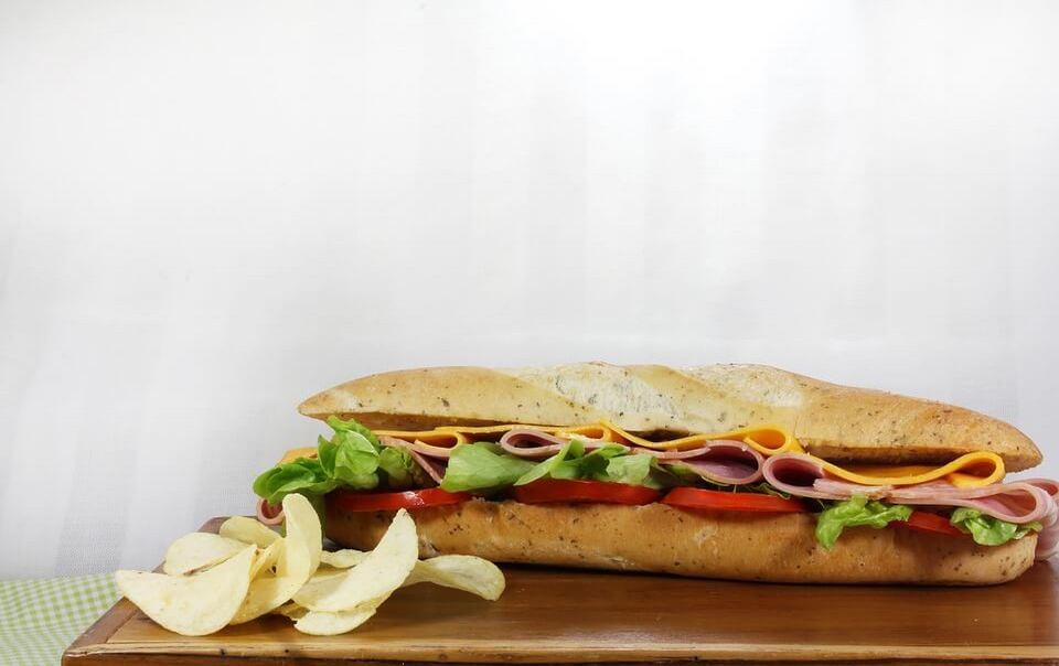 Сабвей: калорийность меню
