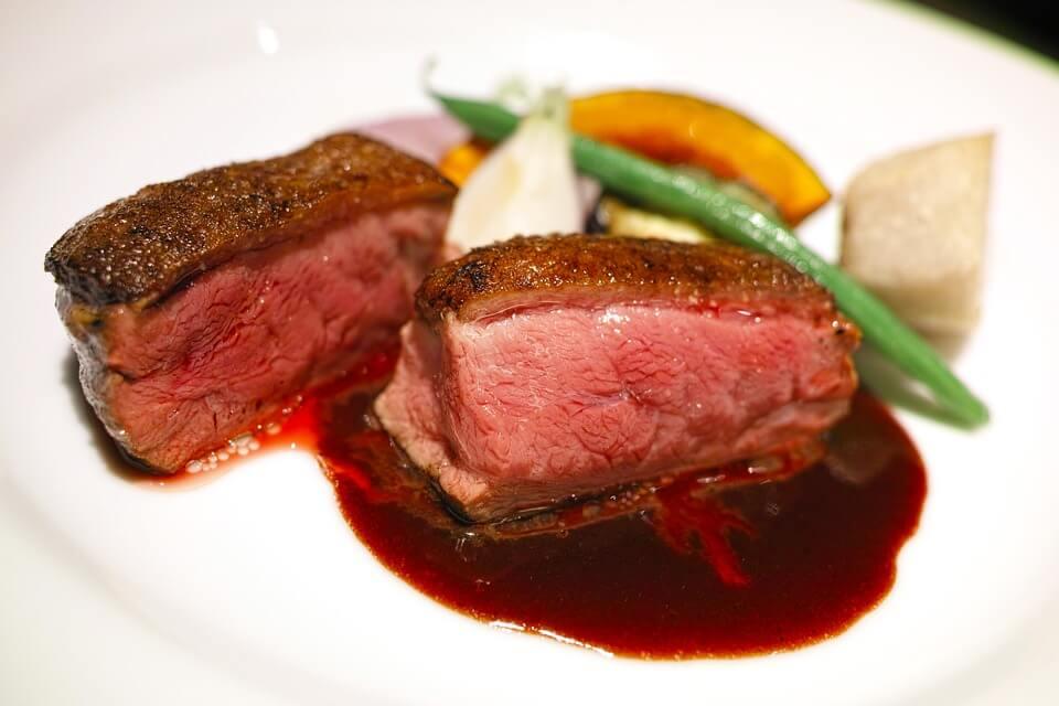 калорийность мясных блюд
