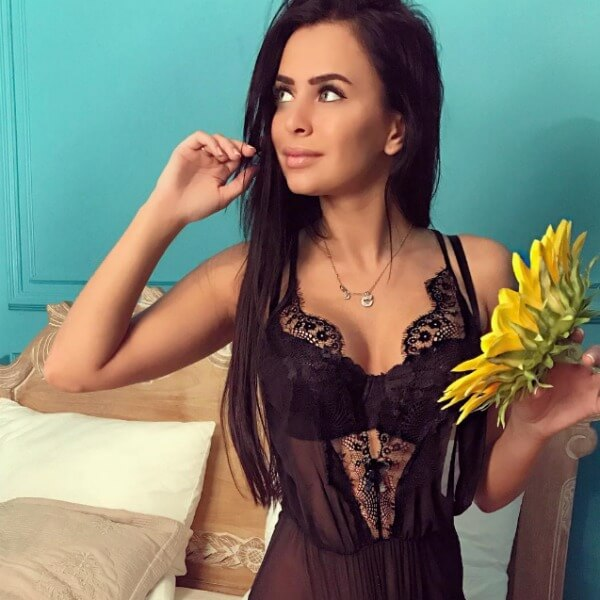 Виктория Романец худая