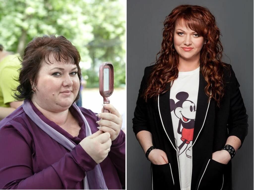 Ольга Картункова похудела: фото до и после диеты