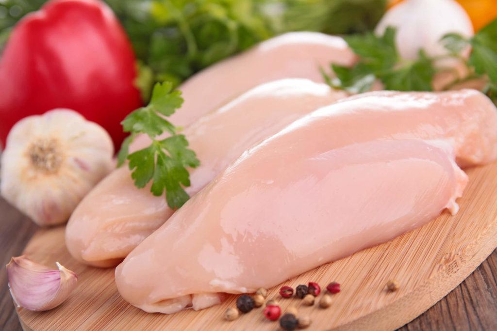 шашлык из филе курицы