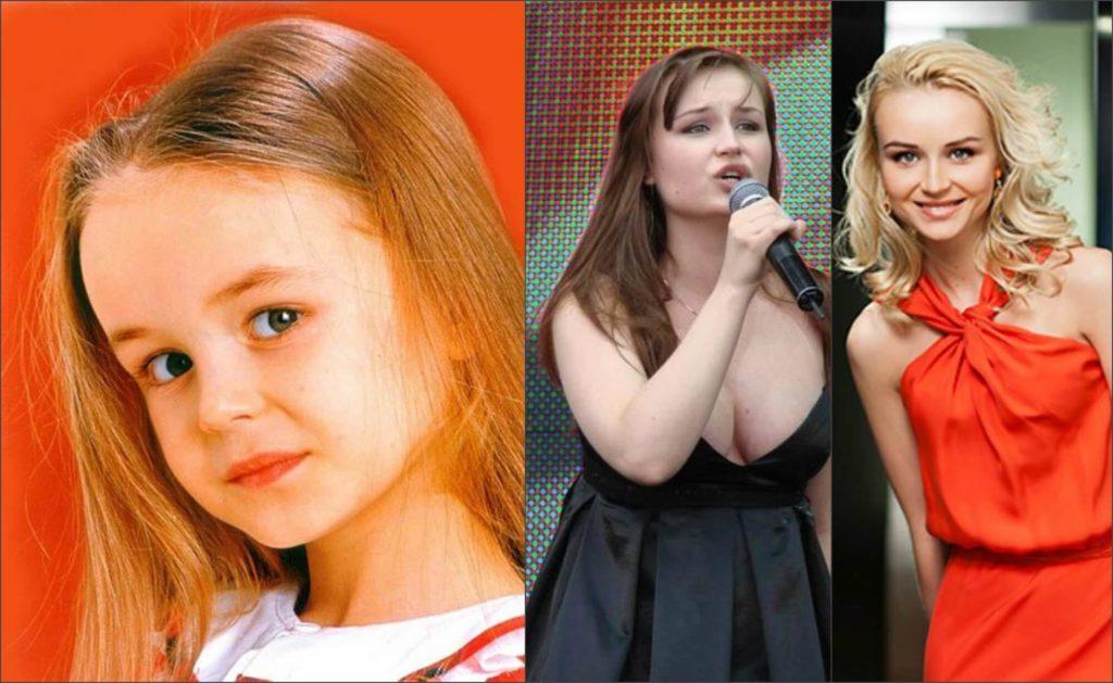 Полина Гагарина похудела: до и после