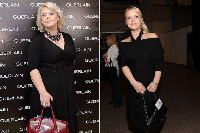 Яна Поплавская фото до и после