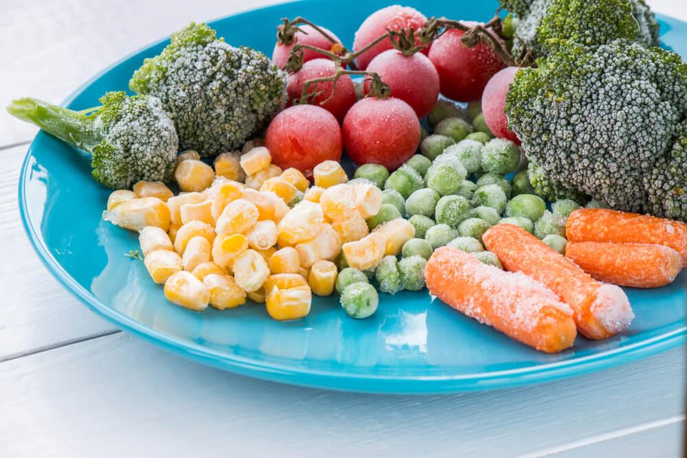 рецепты из замороженных овощей
