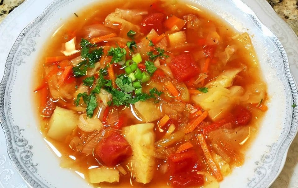 калорийность боннского супа