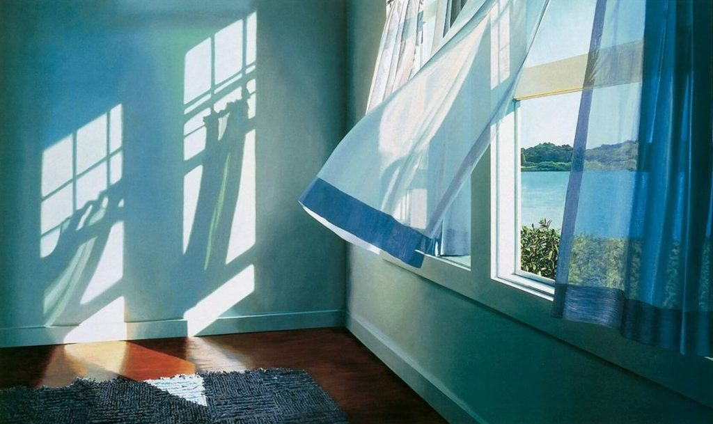 спать с открытым окном