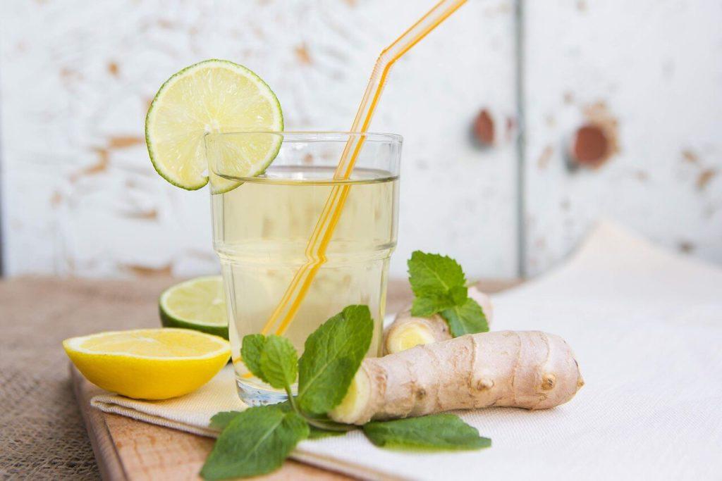 рецепт имбирного лимонада