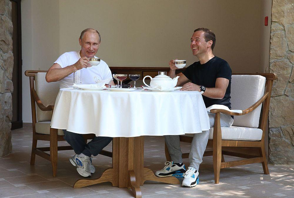 как питается президент путин
