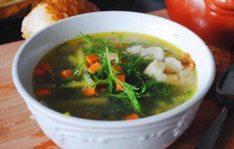 суп из черемши