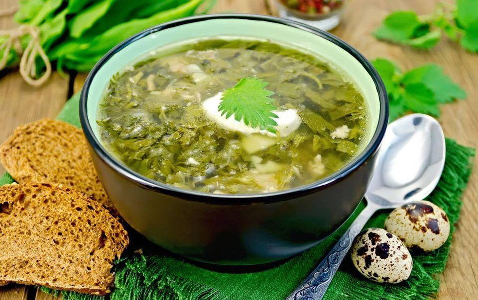 зеленый суп для похудения