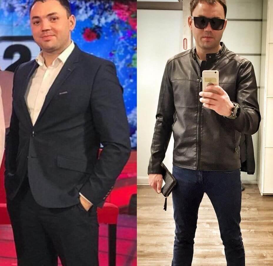 гобозов похудел до и после
