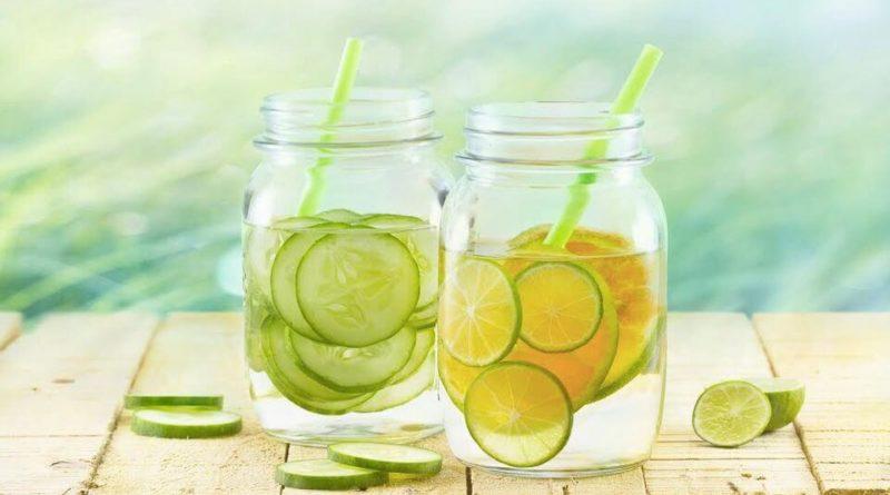 вода с добавками для похудения