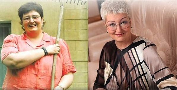 татьяна устинова похудела фото до и после