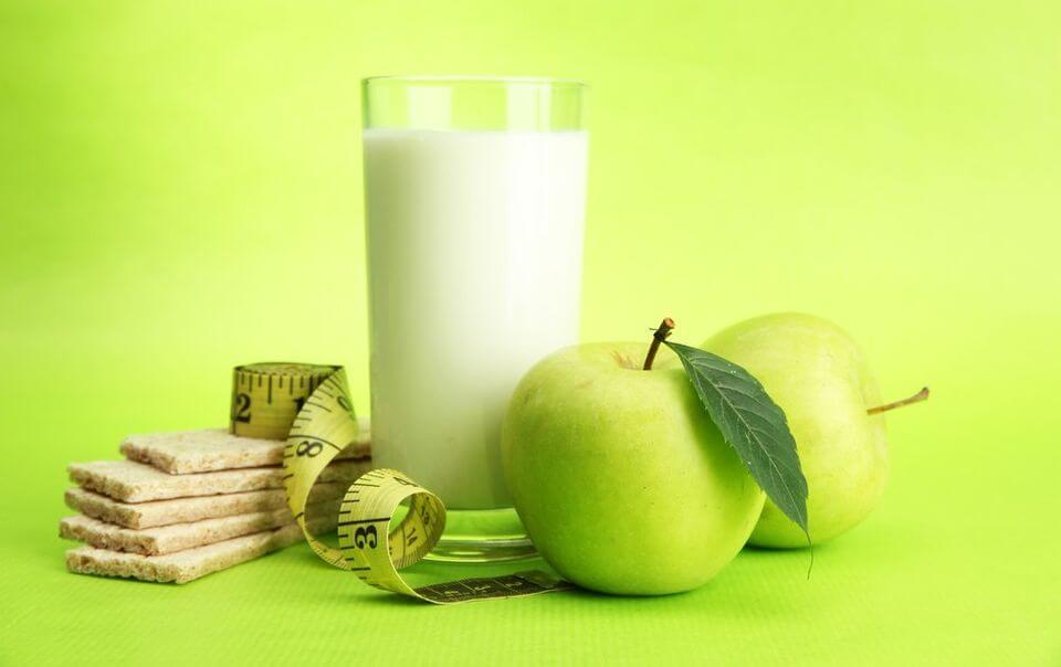 диета кефир яблоко