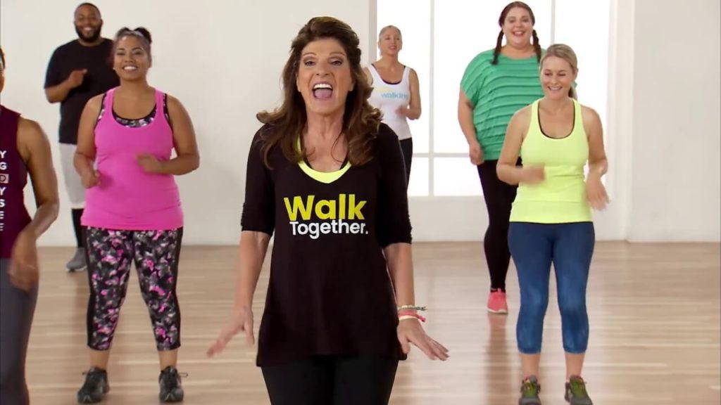 ходьба с лесли сансон для похудения видео
