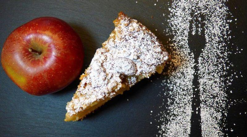 овсяный пирог с яблоками диетический