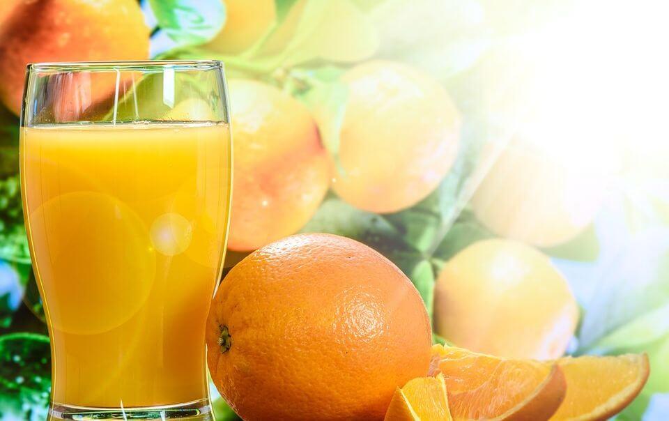 рецепт домашнего апельсинового сока