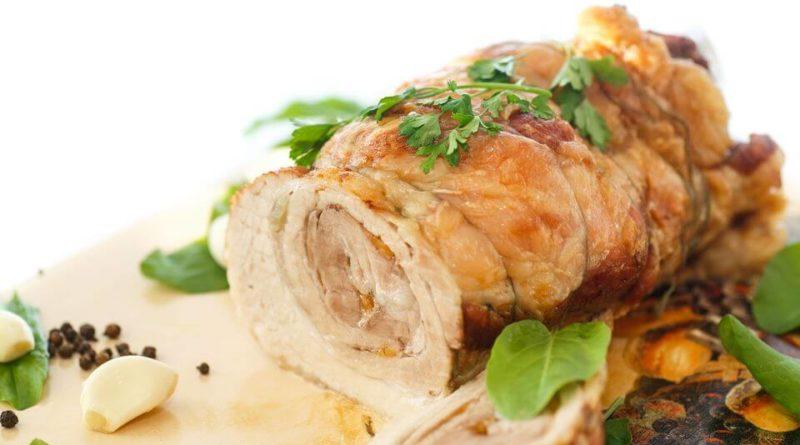 рецепт мясного рулета из свинины