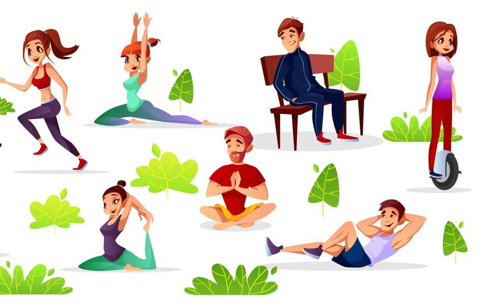 упражнения на стуле для похудения,
