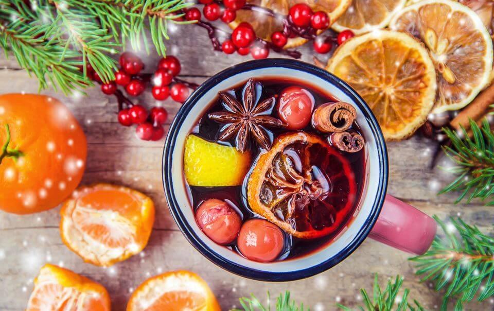 ТОП-5 праздничных блюд с мандаринами