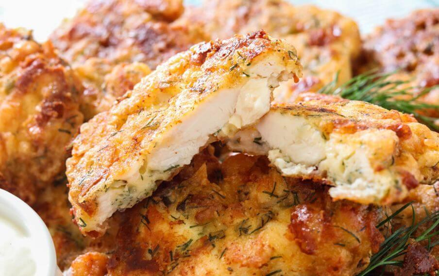 куриные оладьи рецепт