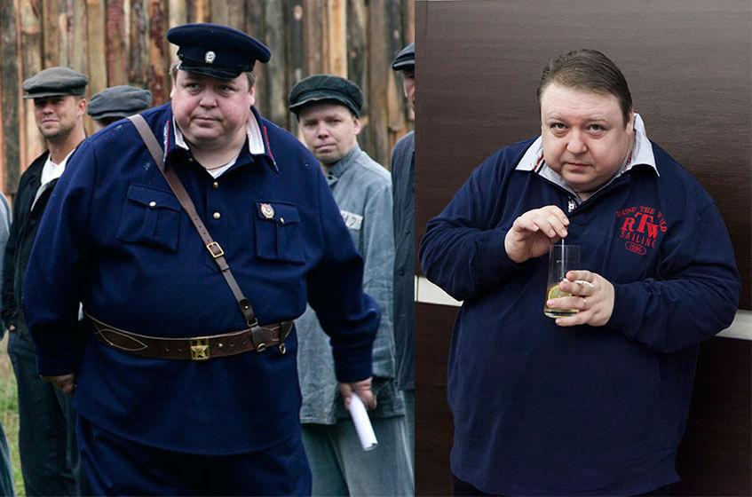 семчев похудел фото до и после
