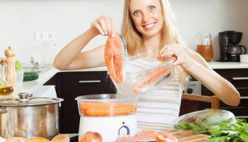 Легкая и сытная паровая диета