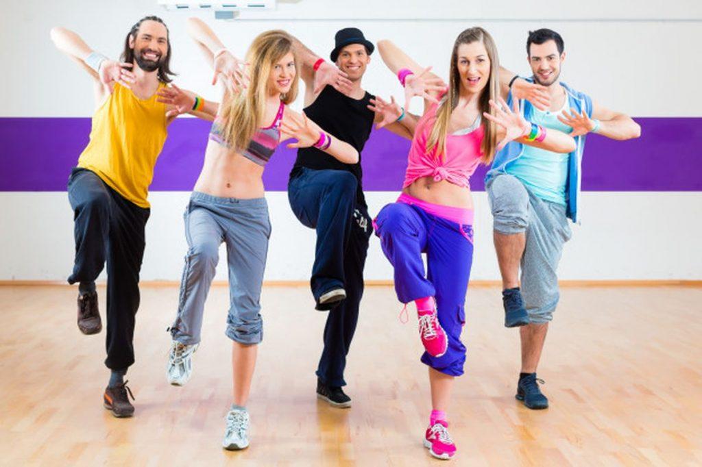 тренировка зумба фитнес