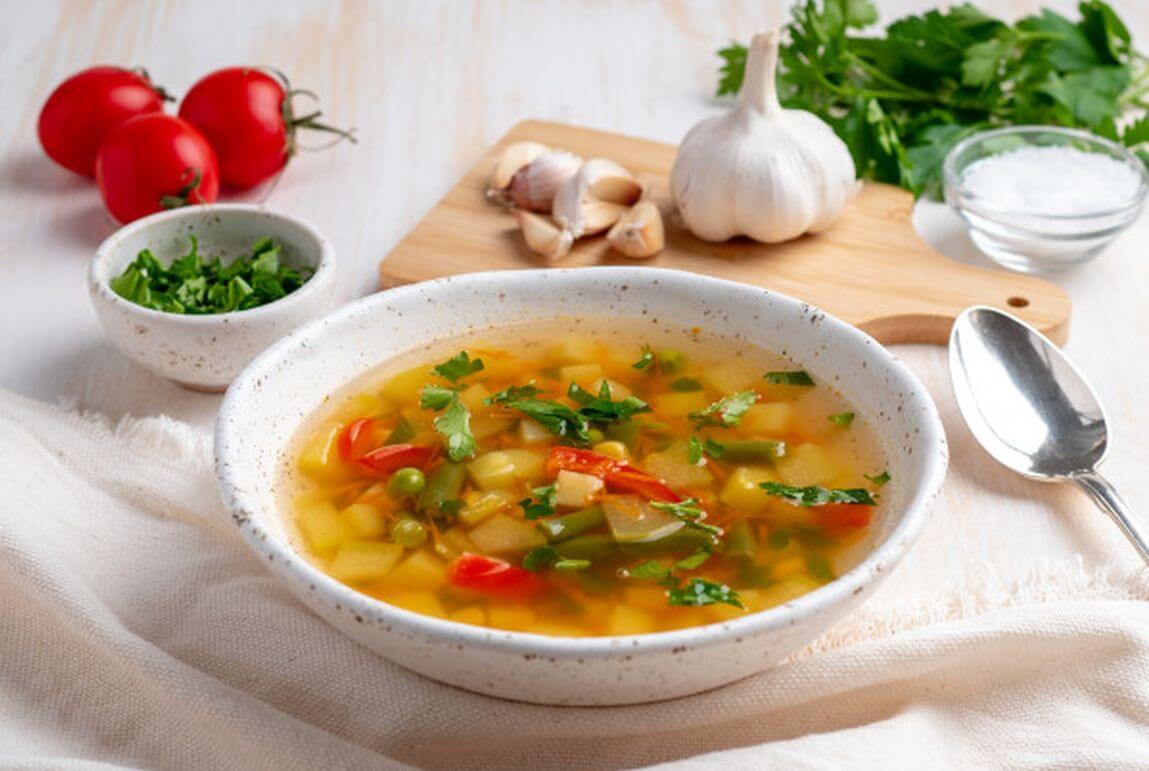 Рецепт лукового супа для похудения.