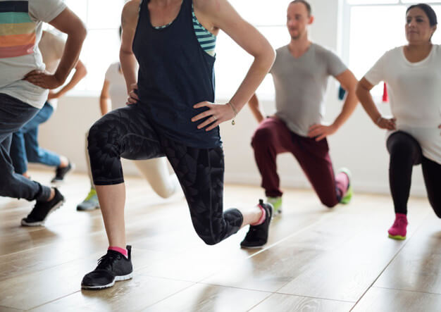 как похудеть в коленях упражнения