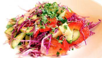 Постный овощной салат для похудения— уйдет до 4 кг за неделю