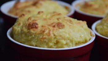 Картофельное суфле с сыром по рецепту жены Льва Толстого