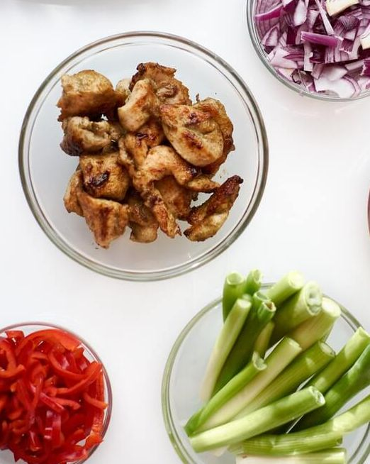 теплый салат с макаронами рецепт