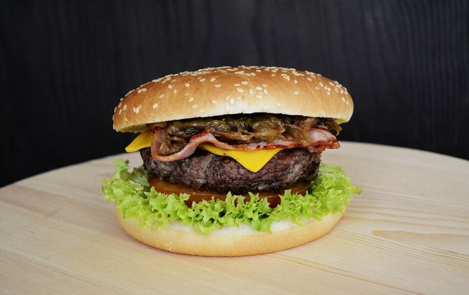 бургер кинг калорийность