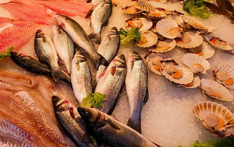 Калорийность рыбы, морепродуктов
