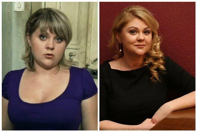 Мазунина до и после