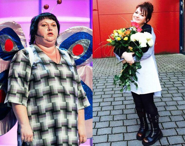 как похудела Ольга Картункова диета