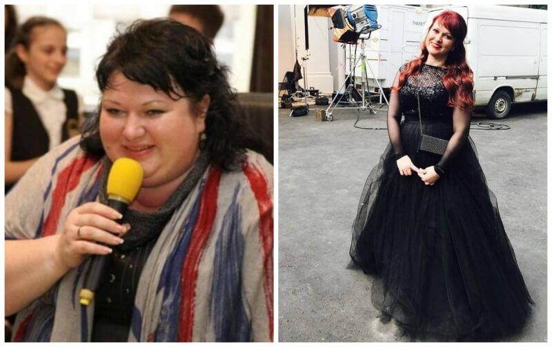 как похудела Ольга Картункова на 40