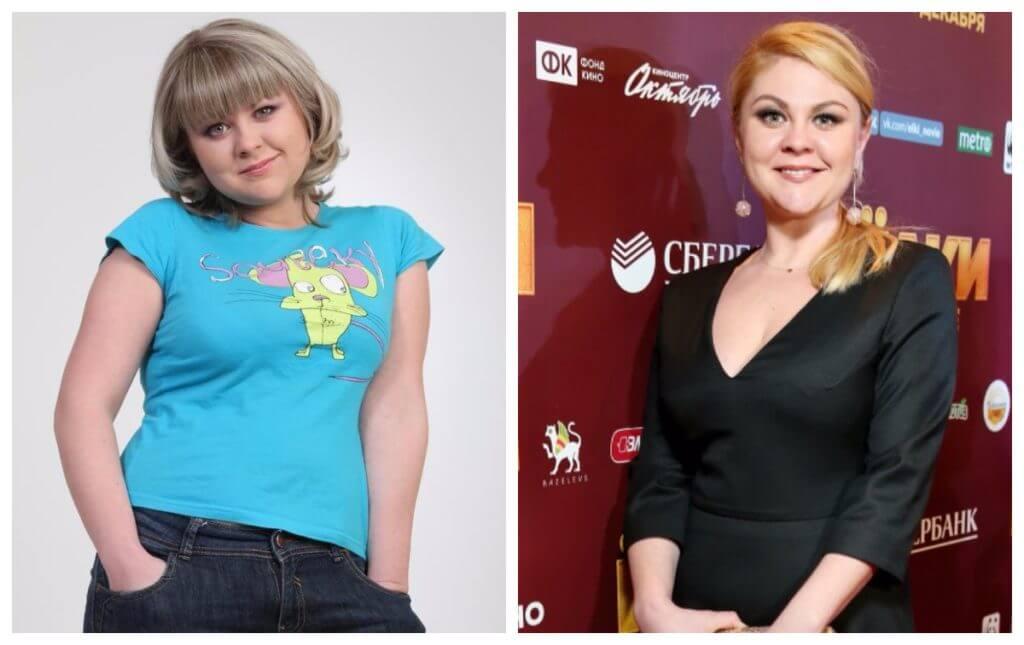 Валентина Мазунина похудела до и после