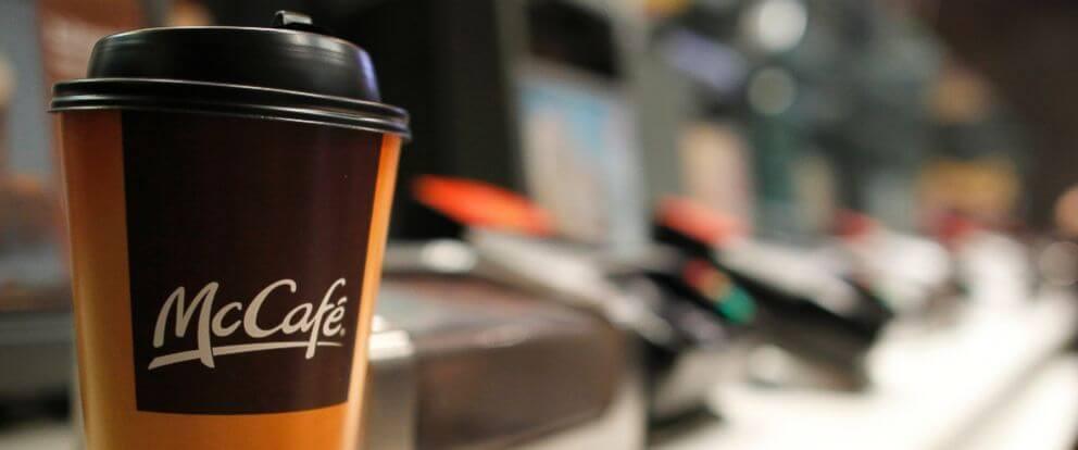 кофе латте макдональдс калорийность