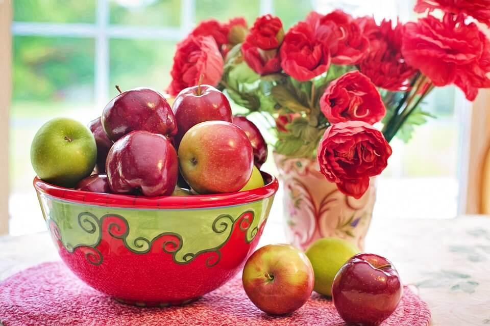 яблочные оладьи без