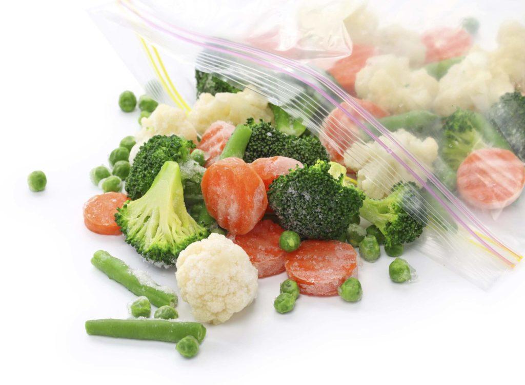 смесь овощей замороженных