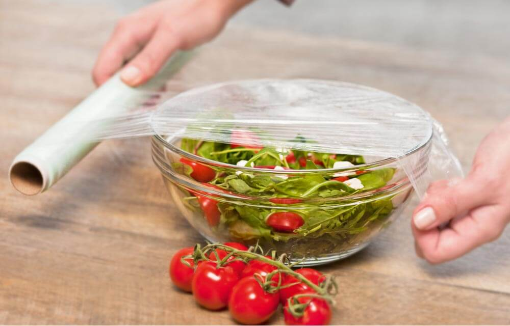 продукты в пищевой пленке