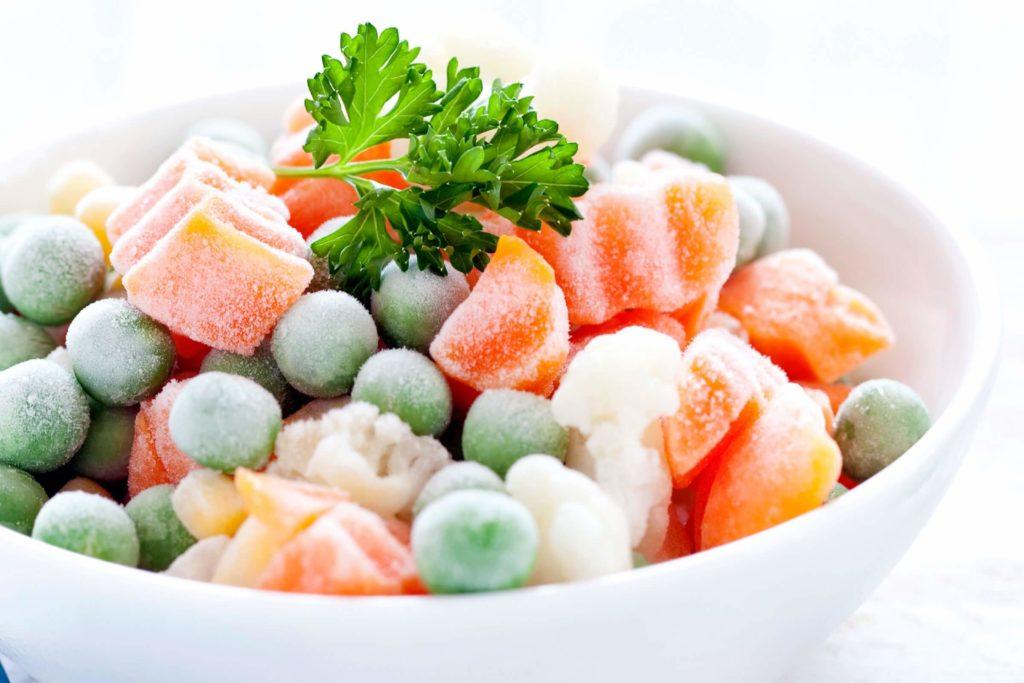 что можно приготовить из замороженных овощей