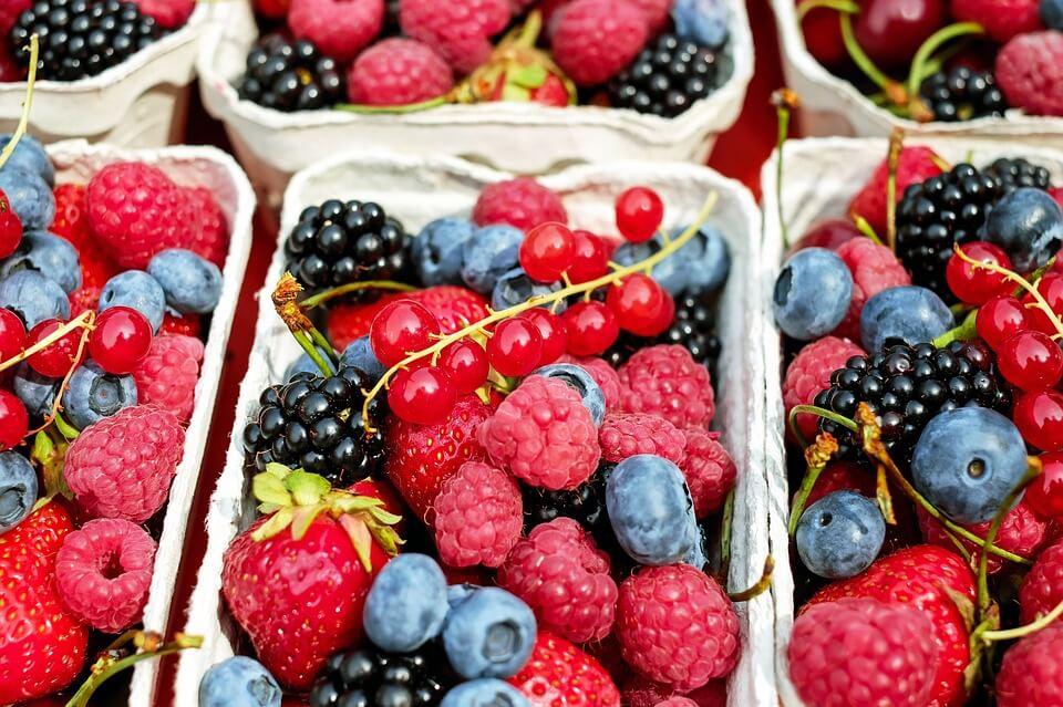 ягоды для молодости кожи