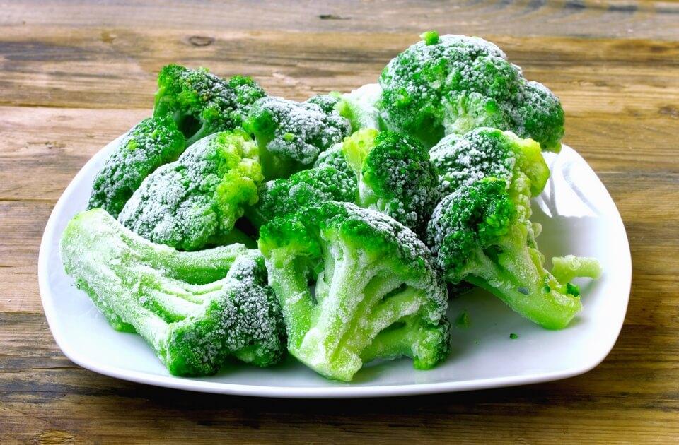 как приготовить замороженные овощи