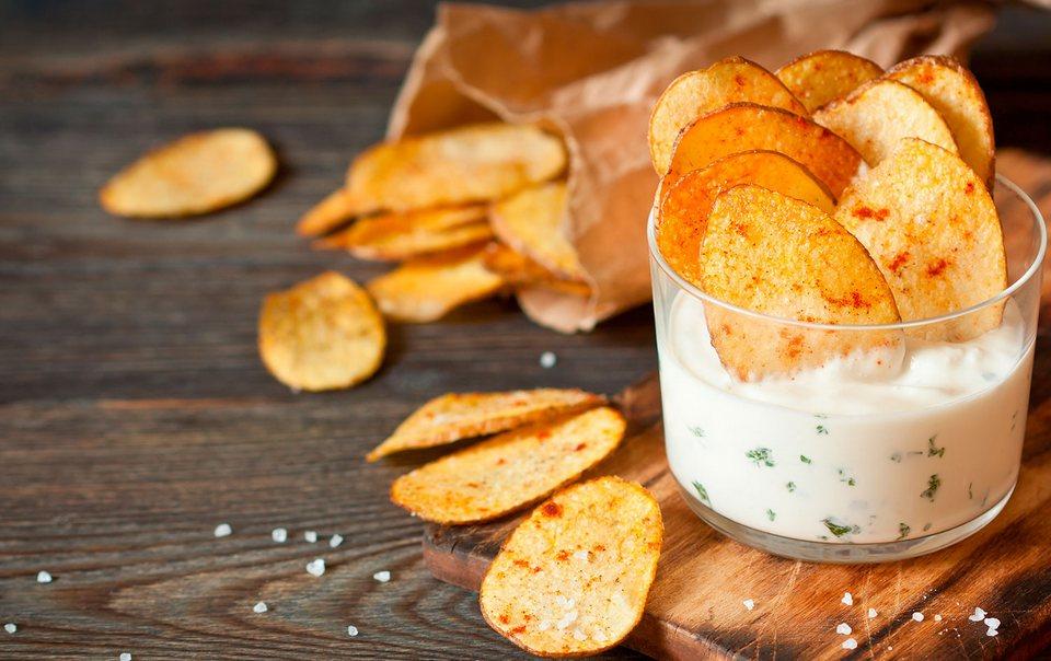рецепт диетических чипсов