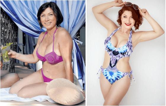 Фото Розы Сябитовой до и после похудения