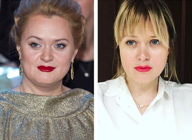 Анна Михалкова похудевшая
