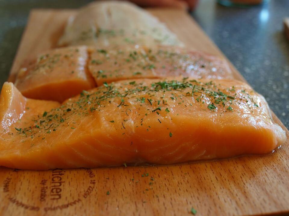 как мариновать красную рыбу
